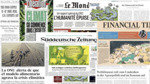 Meat and potatoes: international media majors on diet in IPCC coverage