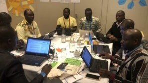 Tackling Wikipedia's Africa gap with a climate change edit-a-thon