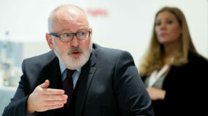 European Green Deal portfolio handed to EU vice president, in major elevation