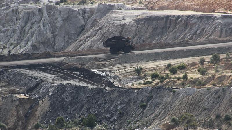 Coal field in Australia
