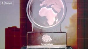 UK leaders debate climate, with Boris Johnson replaced by ice sculpture
