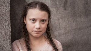 "Thunberg says only ""eight years left"" to avert 1.5°C warming"