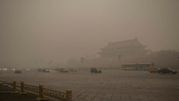 Coronavirus: China's economic slowdown curbs deadly air pollution