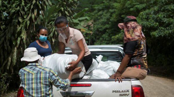 'Solidarity economy': Indigenous women run WhatsApp food swap in Costa Rica