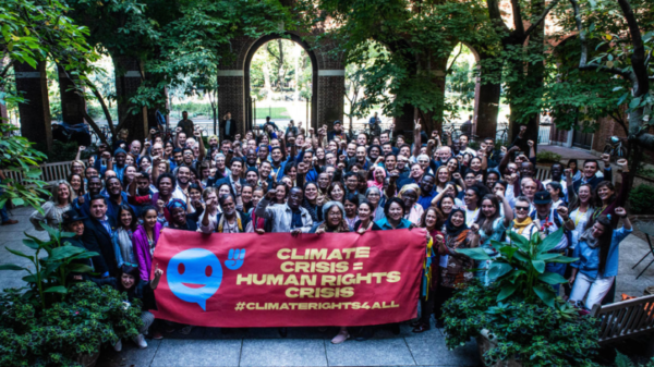 Climate change and human rights come together in new funder collaborative