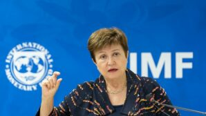 Campaigners confront IMF chief over green recovery contradictions
