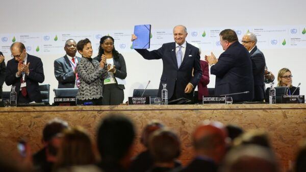I am proud to have negotiated the Paris Agreement, at my first UN summit