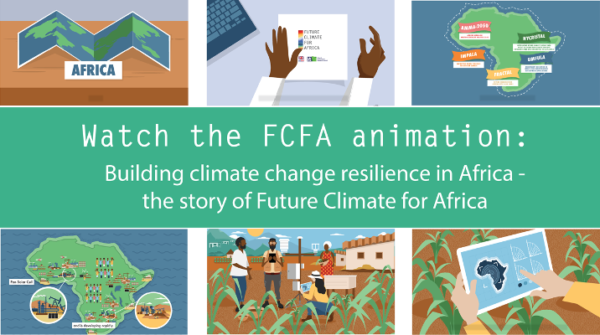 Animation and podcast series share the story of Future Climate for Africa