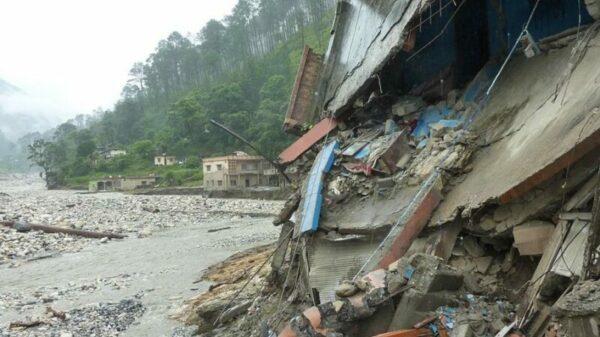 Fatal Himalayan glacial lake outburst highlights destabilising effect of warming