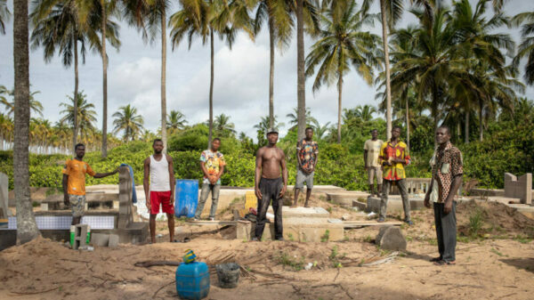 Lost to sea: The Ivory Coast villagers saving their ancestors from rising waves