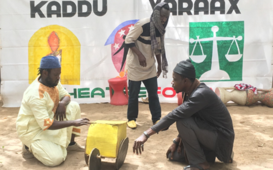 Innovative board game helps West African farmers grapple with climate change