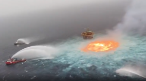 Ocean fire exposes weak regulation of Mexico's oil and gas sector