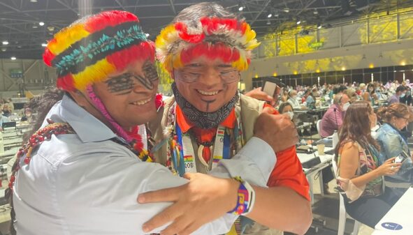 Conservationists back indigenous peoples' call to protect 80% of the Amazon by 2025